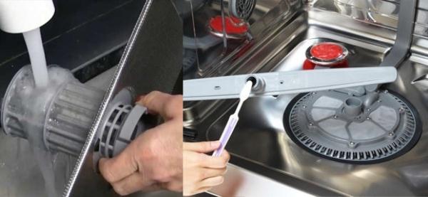 Cách vệ sinh máy rửa chén bát sao cho đạt hiệu quả tốt nhất.