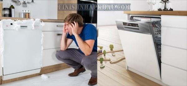 Cùng Finish Nhập khẩu khám phá: Những lỗi thường gặp khi sử dụng máy rửa chén.