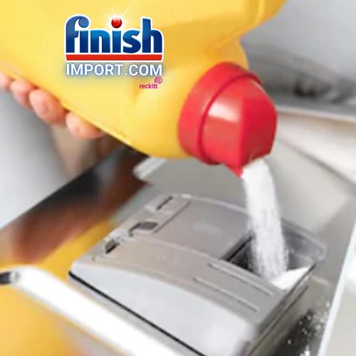Hộp bột rửa chén Finish Classic 2,5Kg (Hương chanh – 250 lần dùng) – (Dành cho máy rửa chén 7-8-9-10-12-13-14-15 bộ).