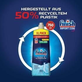 Chai 750ml nước làm bóng chén Finish – (Hỗ trợ sấy khô và không bị đọng nước trên ly thủy tinh).