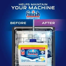 Chai 250ml dung dịch vệ sinh máy rửa chén Finish (EU-Đức) – (Khuyên dùng 3 tháng 1 lần).